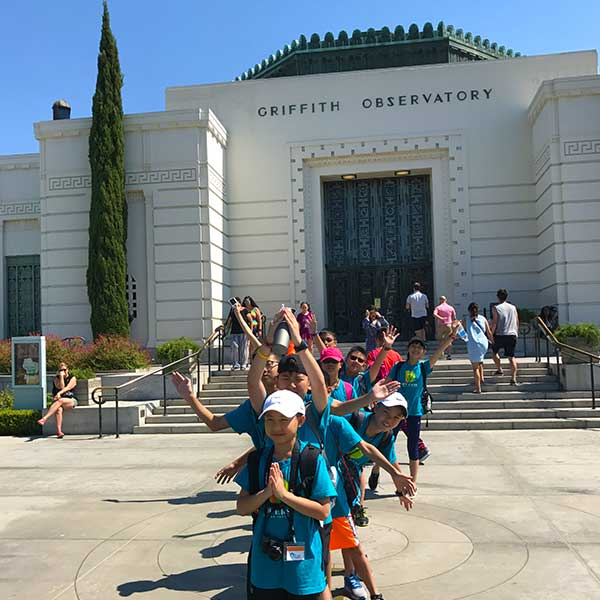 La La Tours - school tour of Griffith Observatory